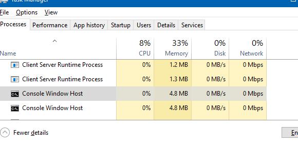 Conhost.exe high CPU