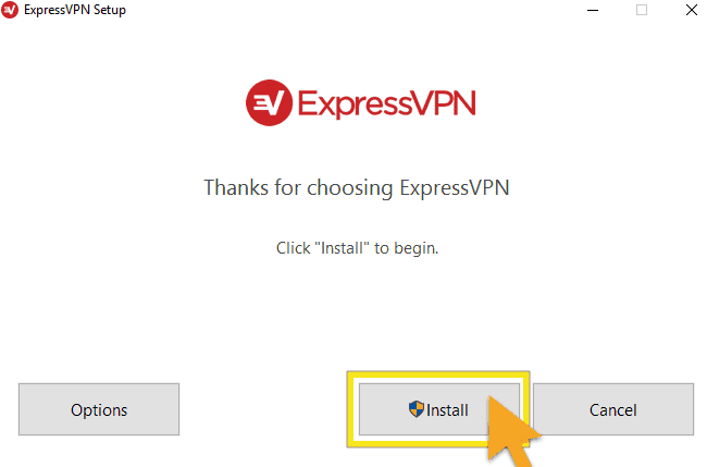 ExpressVPN for Windows