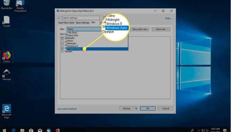 install windows aero