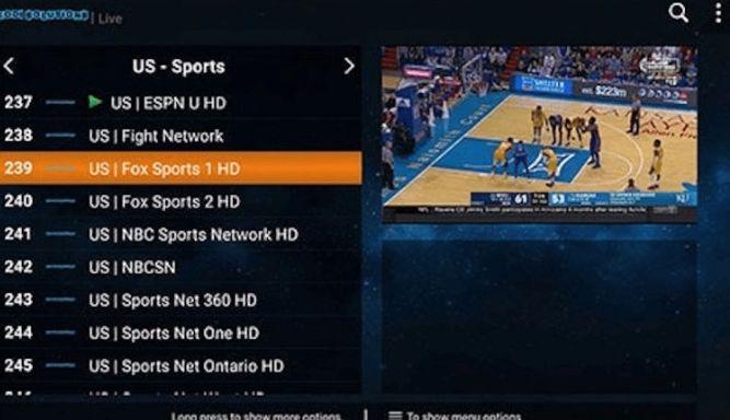 Kodi IPTV Add-on