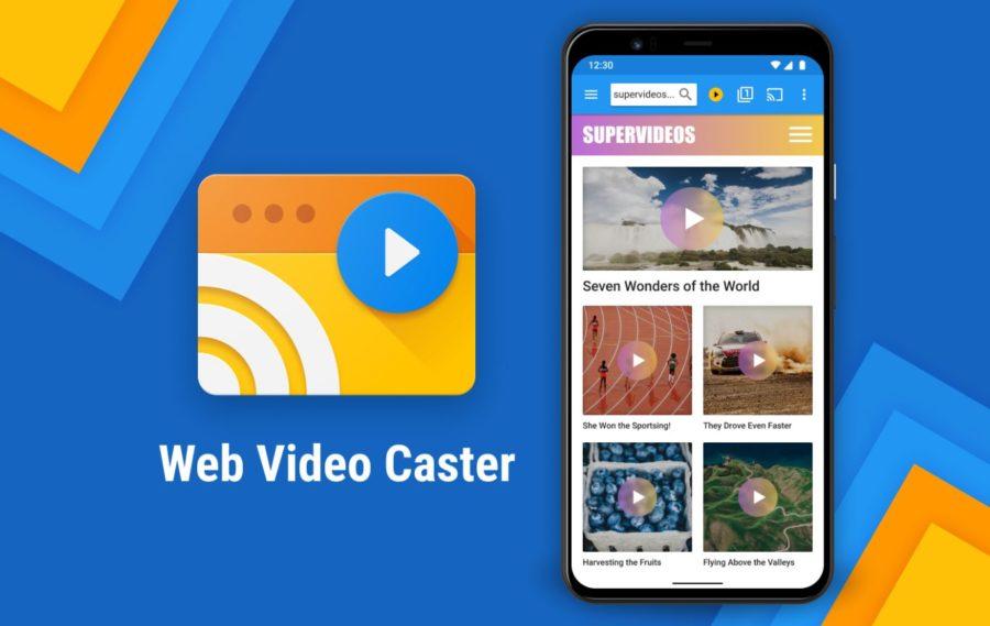 Web video caster for Roku